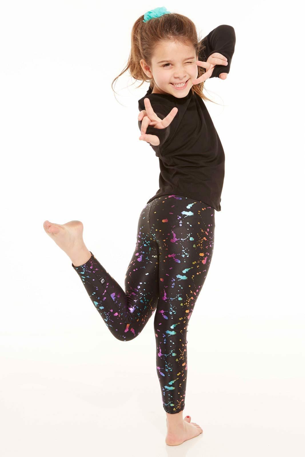 Terez Kids Rainbow Foil Leggings Lyst