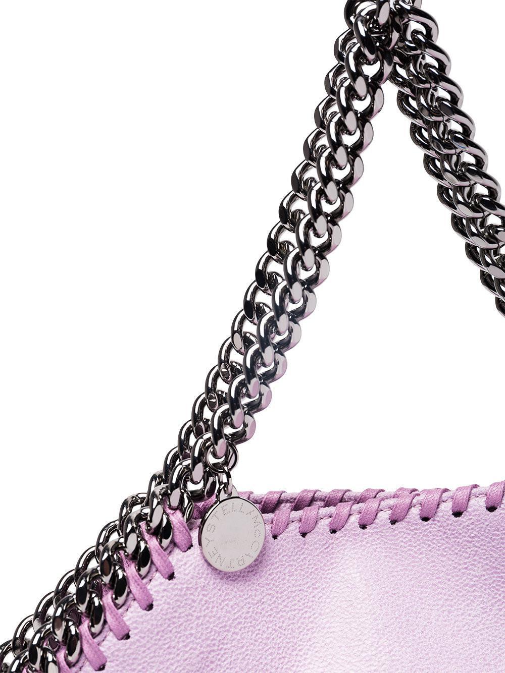 Stella McCartney Lilac Mini Falabella Tote Bag