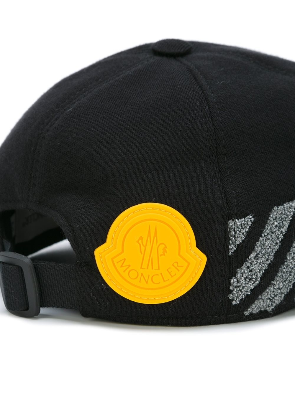 37ed80d83d66 Lyst - Moncler X Off-white White Widow Embriodered Cap in Black for Men