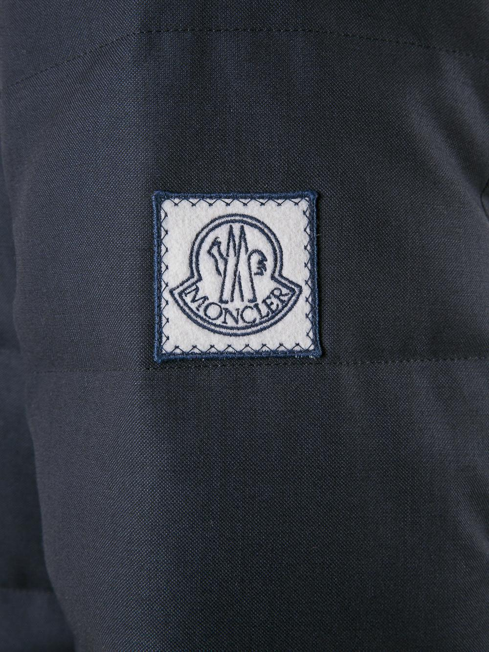 Moncler Gamme Bleu Cotton Padded Blazer for Men