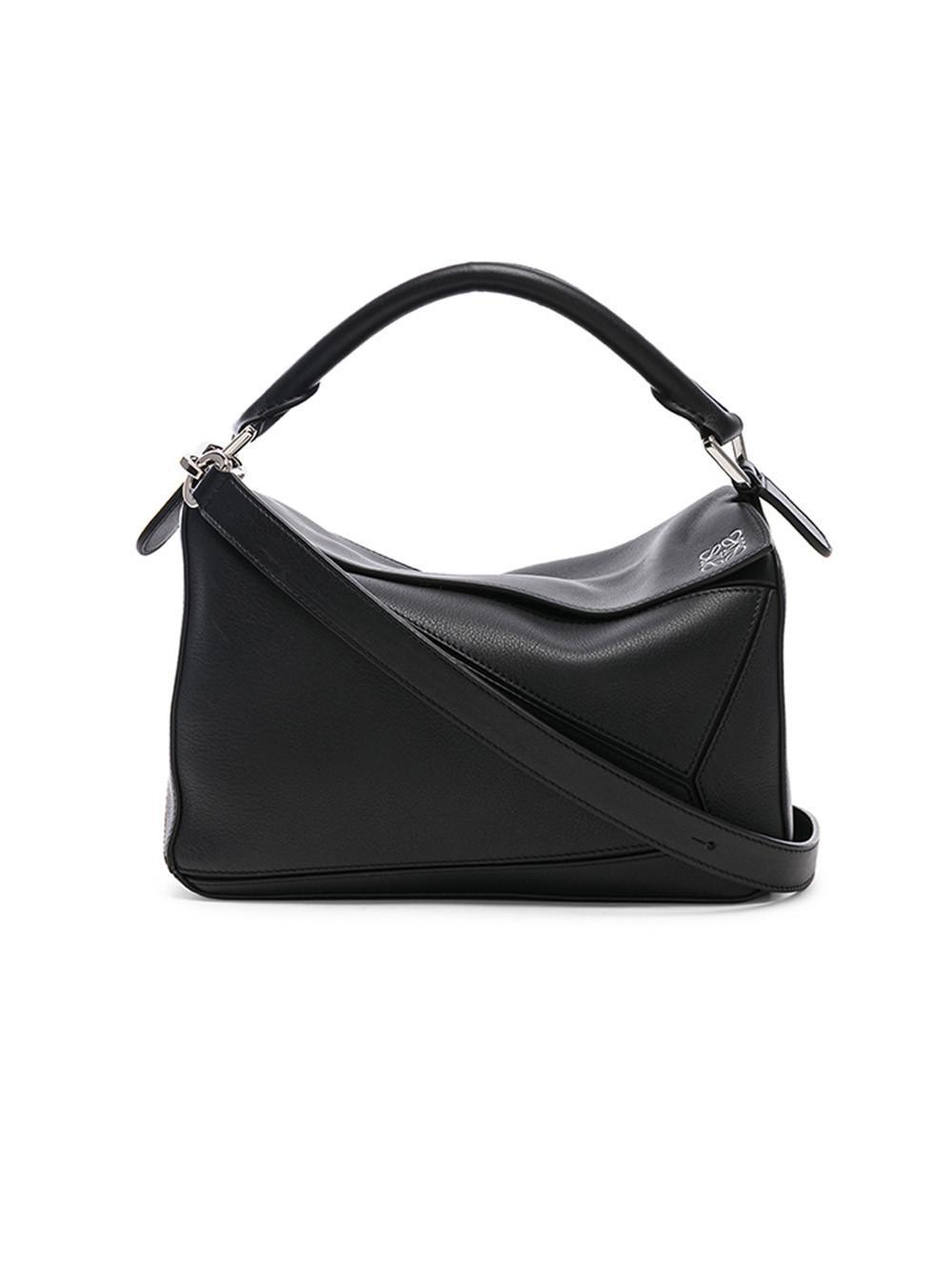 Loewe Puzzle Small Bag in Black - Lyst 292b711acf73b