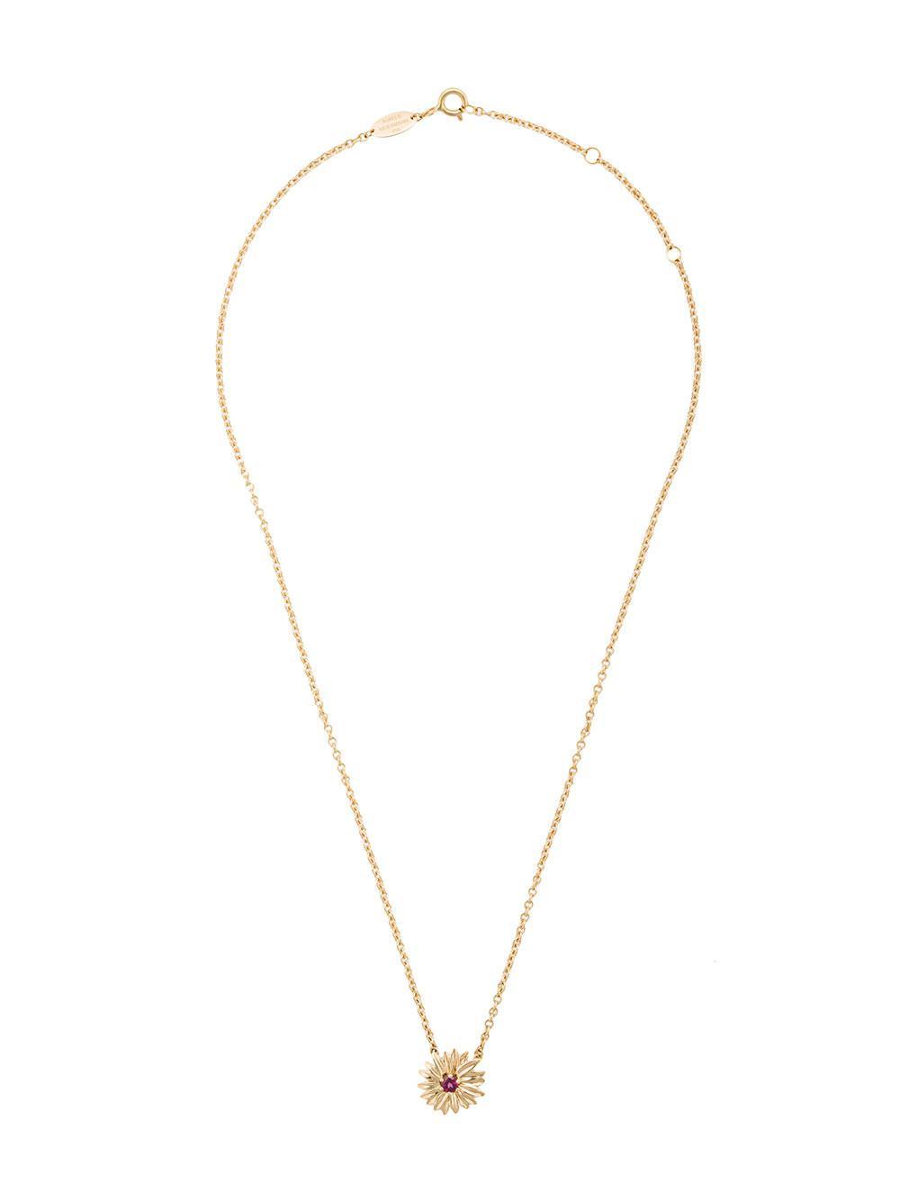 Aurelie Bidermann 18kt Gold Bouquet Necklace in Metallic - Save 14%