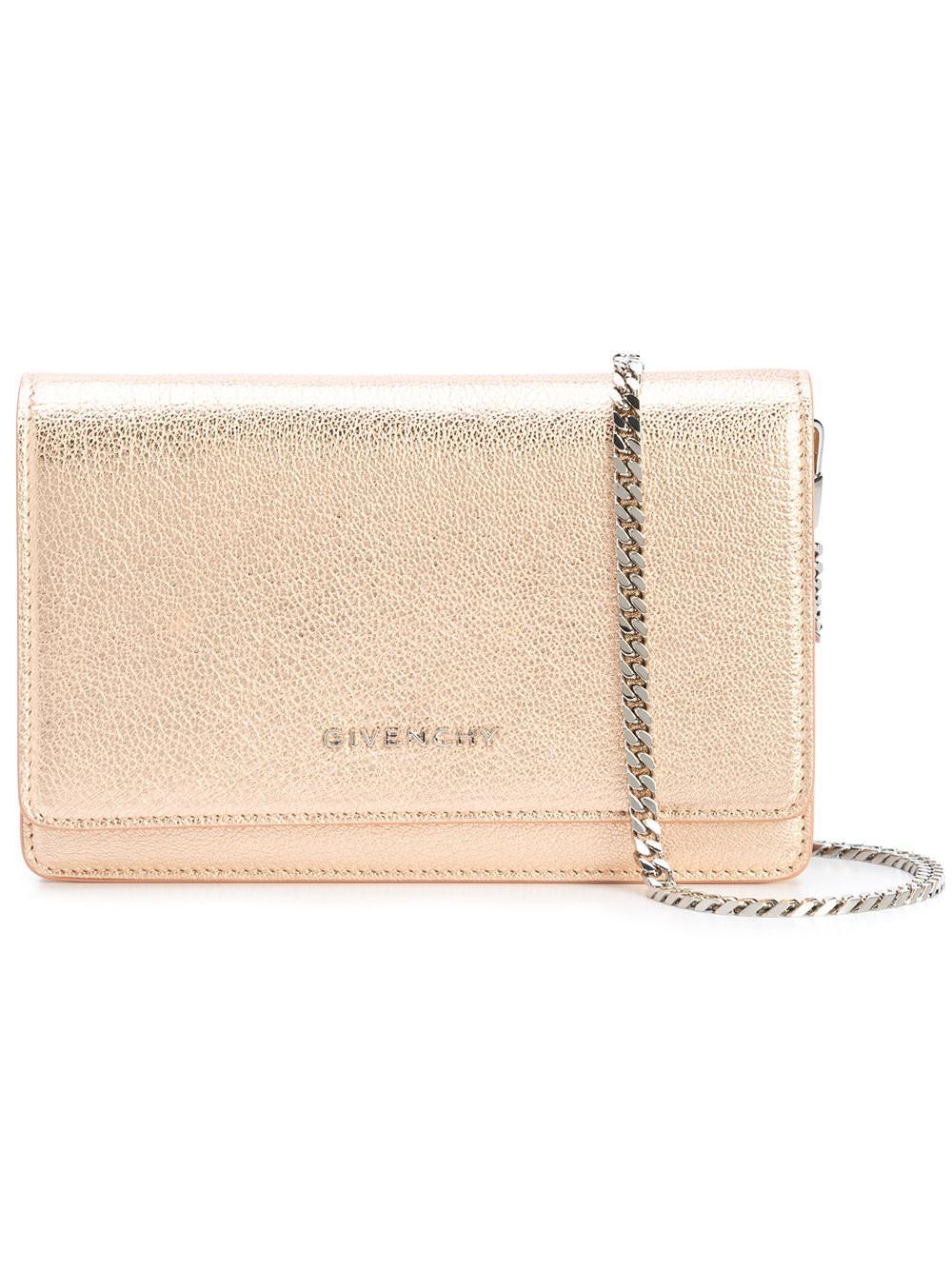 Pandora mini chain wallet - Metallic Givenchy JJxlEb