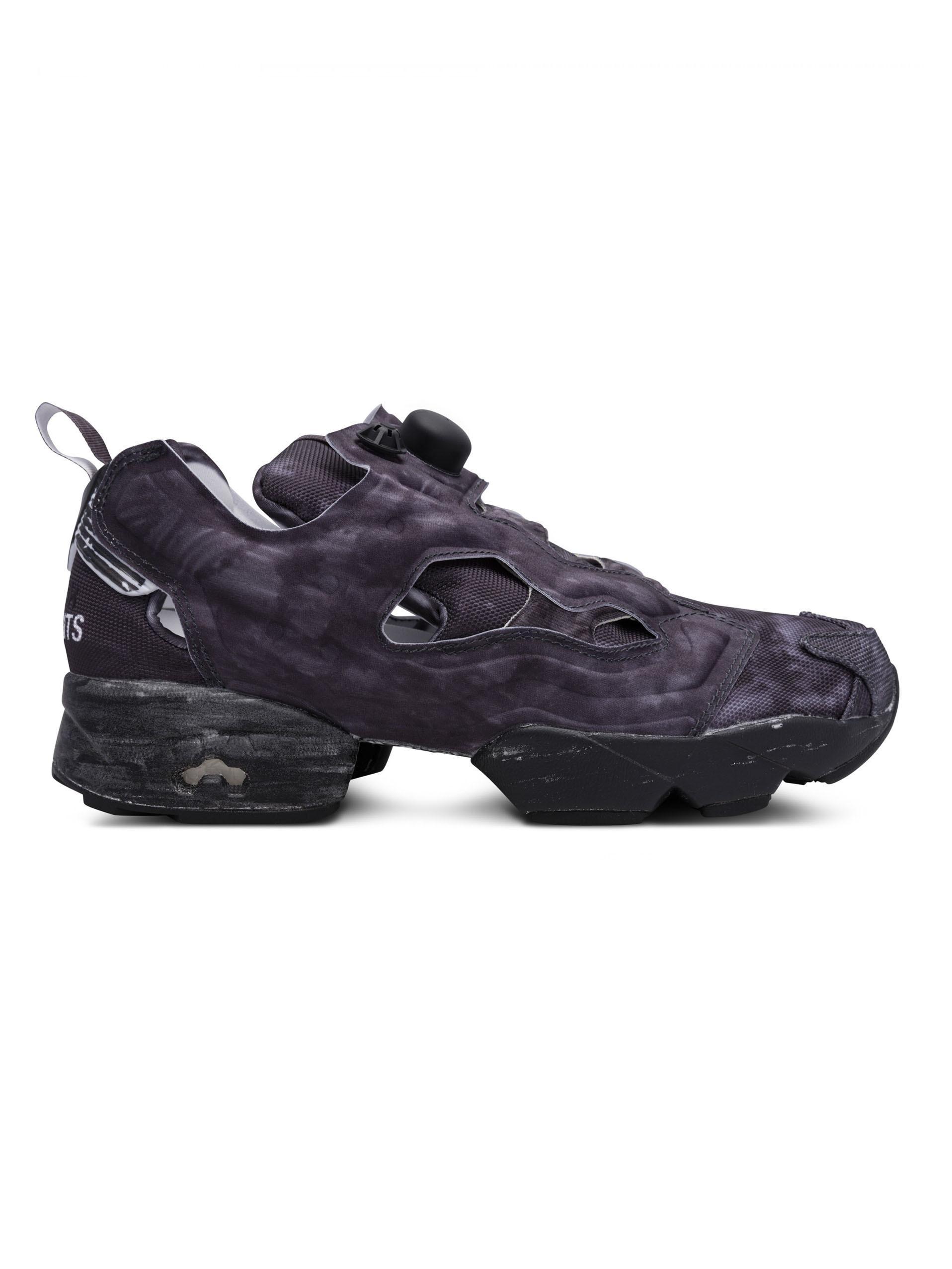 de5abb480a77 Lyst - Vetements X Reebok Highlighted Pump Sneakers in Black for Men ...