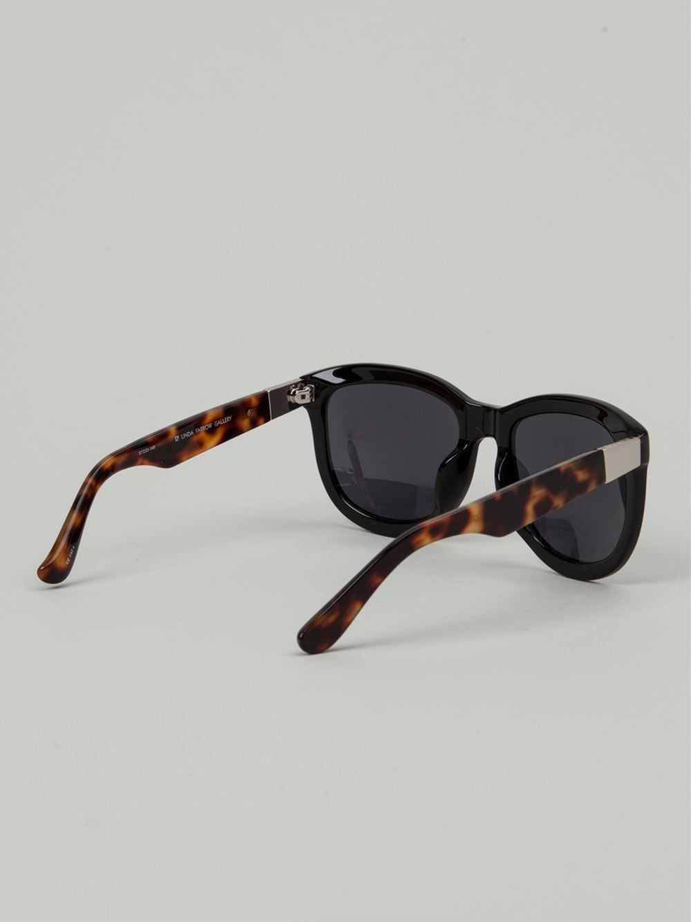 The Row ' X Linda Farrow Gallery 74' Sunglasses in Black