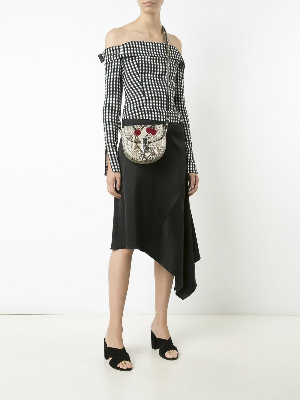 Altuzarra Leather Ghianda Saddle Mini Cross-body Bag