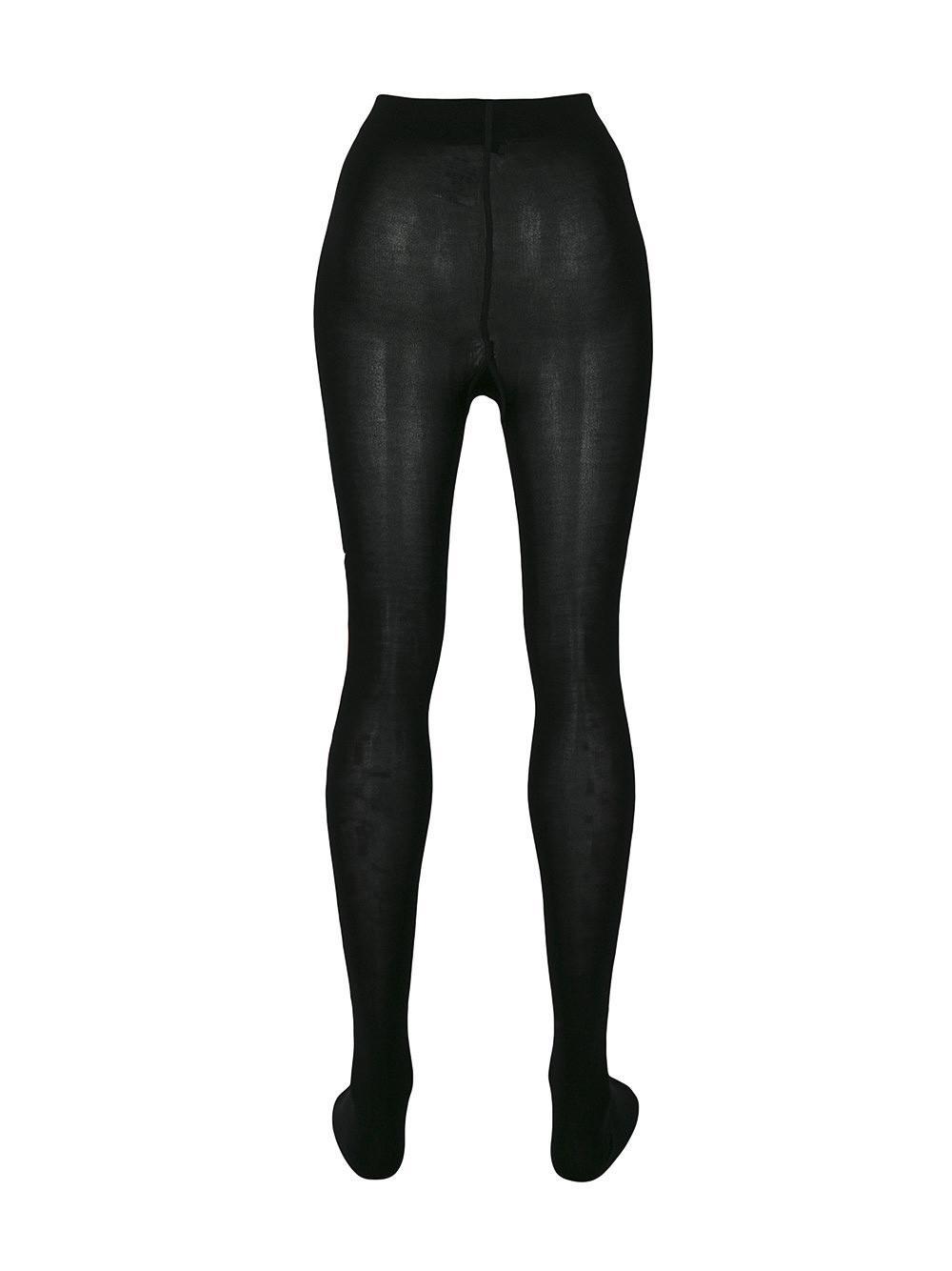 83ee33b54574f Givenchy Logo Print Tights in Black - Lyst