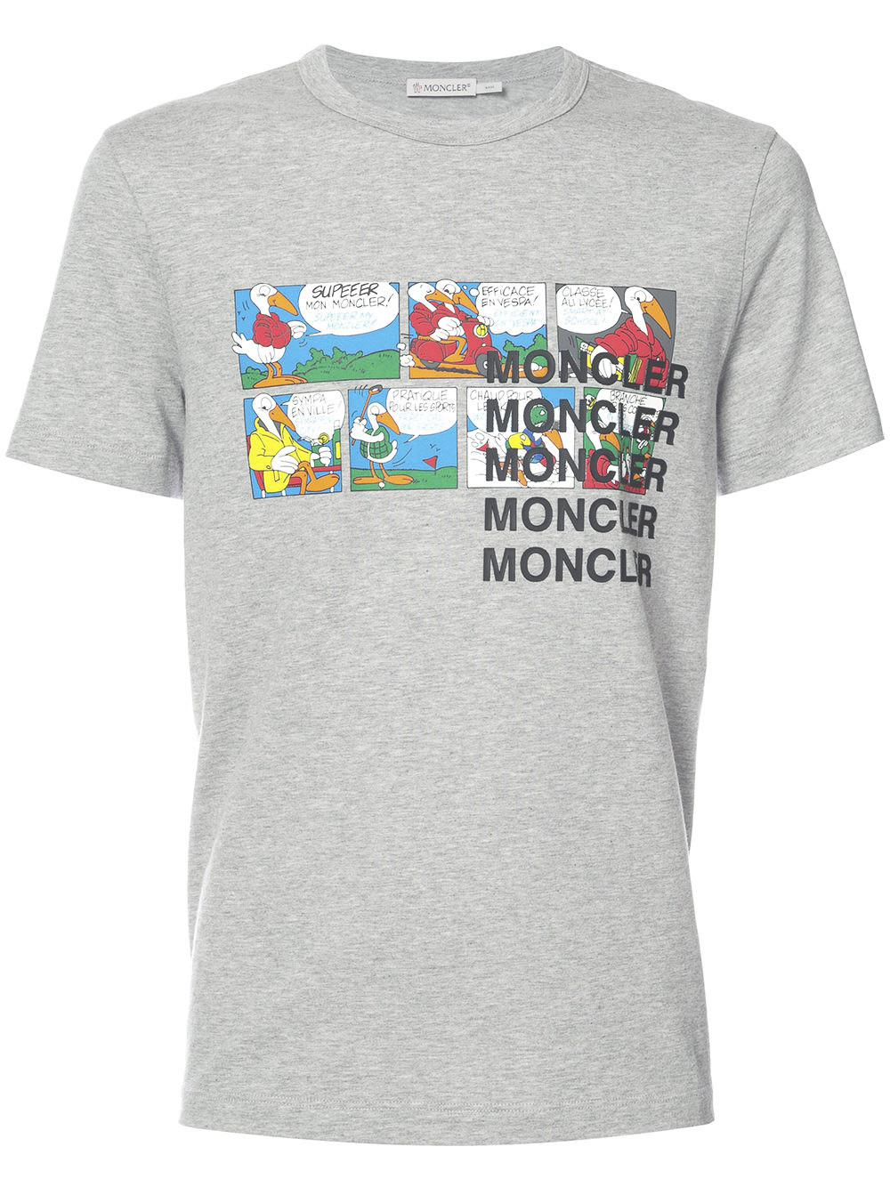 db5867dc5657 Moncler Cartoon Printed T-shirt for Men - Save 44% - Lyst
