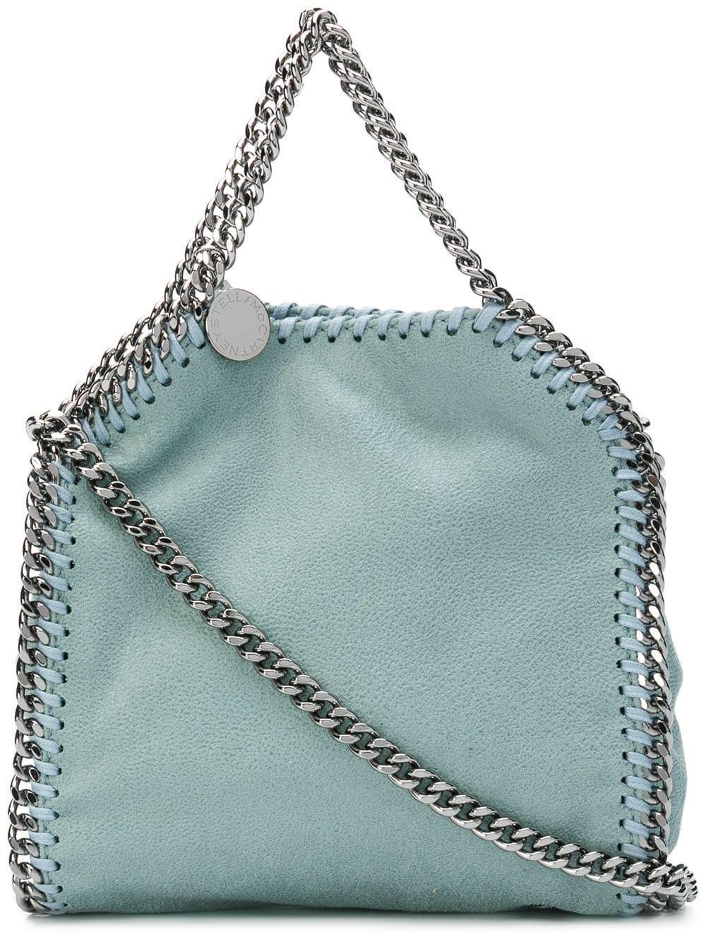 085d8a3813 Lyst - Stella Mccartney Mini Falabella Tote in Blue