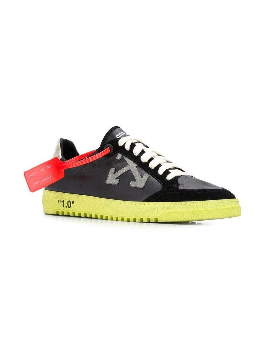 o Virgil Abloh Leather 2.0 Low Sneakers