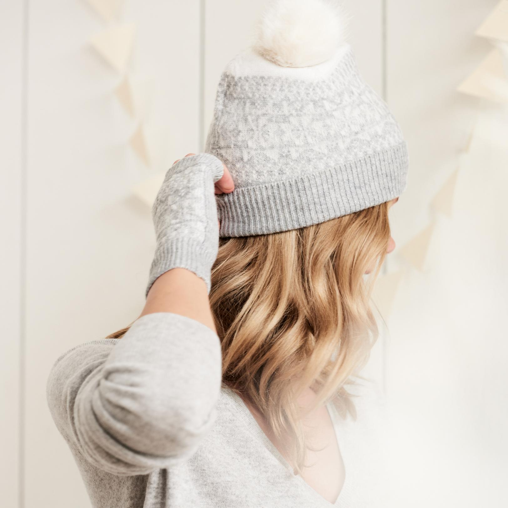 258db3f152d Gallery. Previously sold at  The White Company · Women s Cashmere Beanies  Women s Wool Hats ...