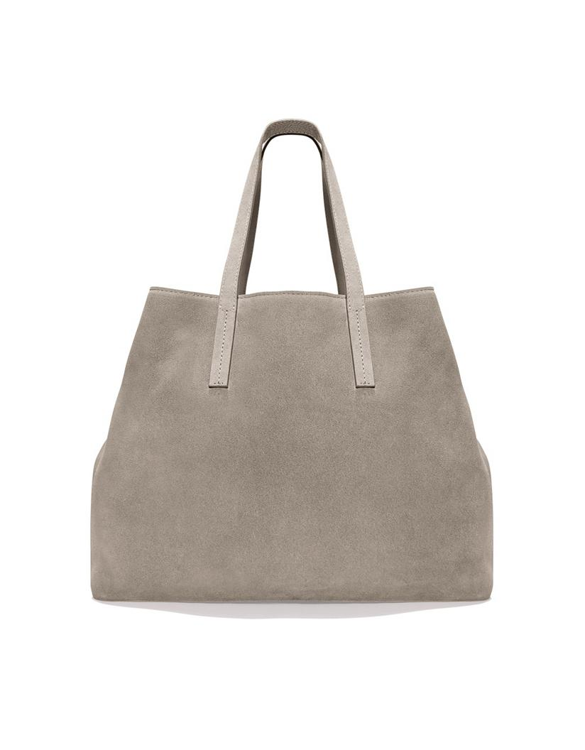 The White Company Suede Tote Bag