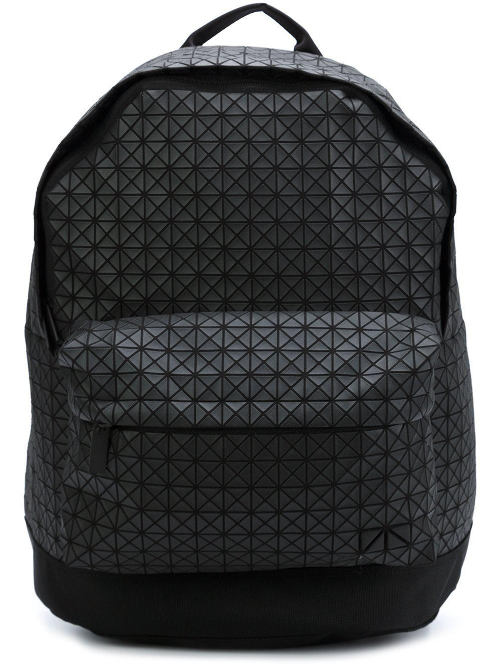 a8569a5d65f Lyst - Bao Bao Issey Miyake Geometric Panelled Backpack in Black for Men