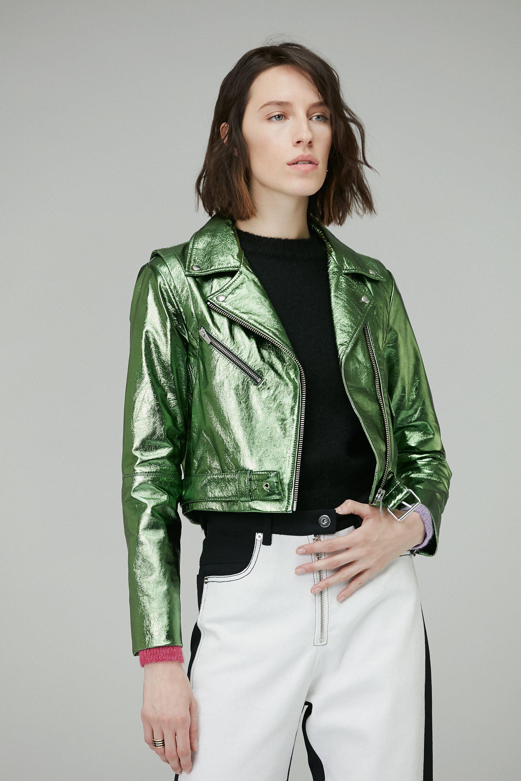 0c602e4b1 Women's Green Baby Jane Jacket Jade Metallic