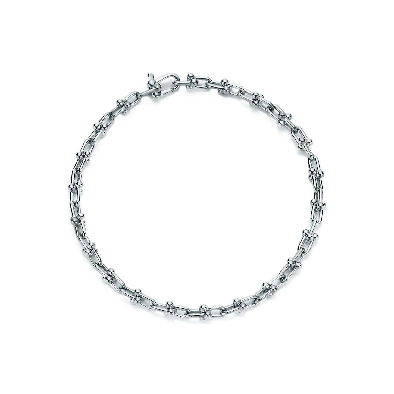 a80ac861b Tiffany & Co. Tiffany City Hardwear Micro Link Bracelet In Sterling ...