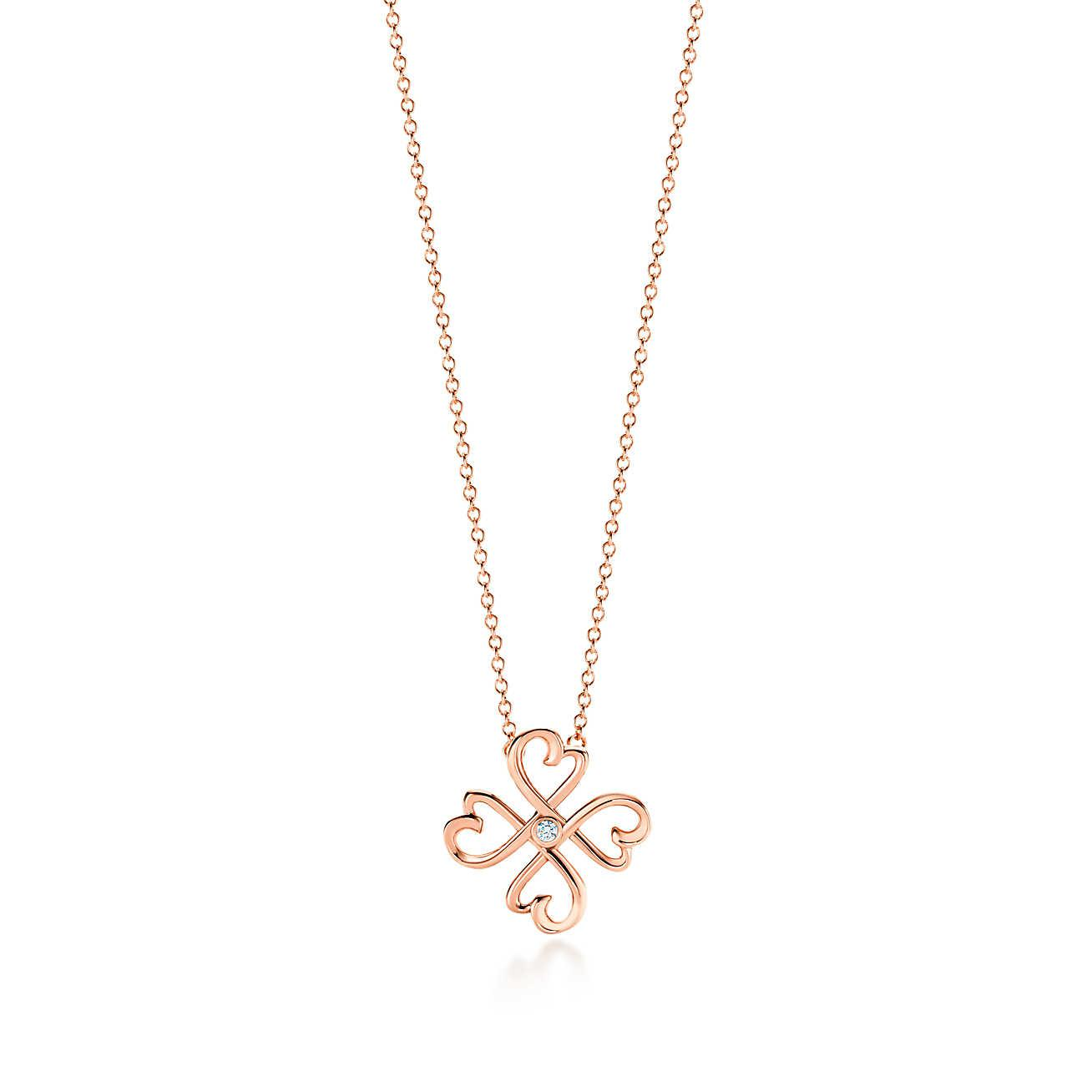 Picasso Amour Pendentif Paloma Coeur En Or 18 Carats, Mini Tiffany & Co.
