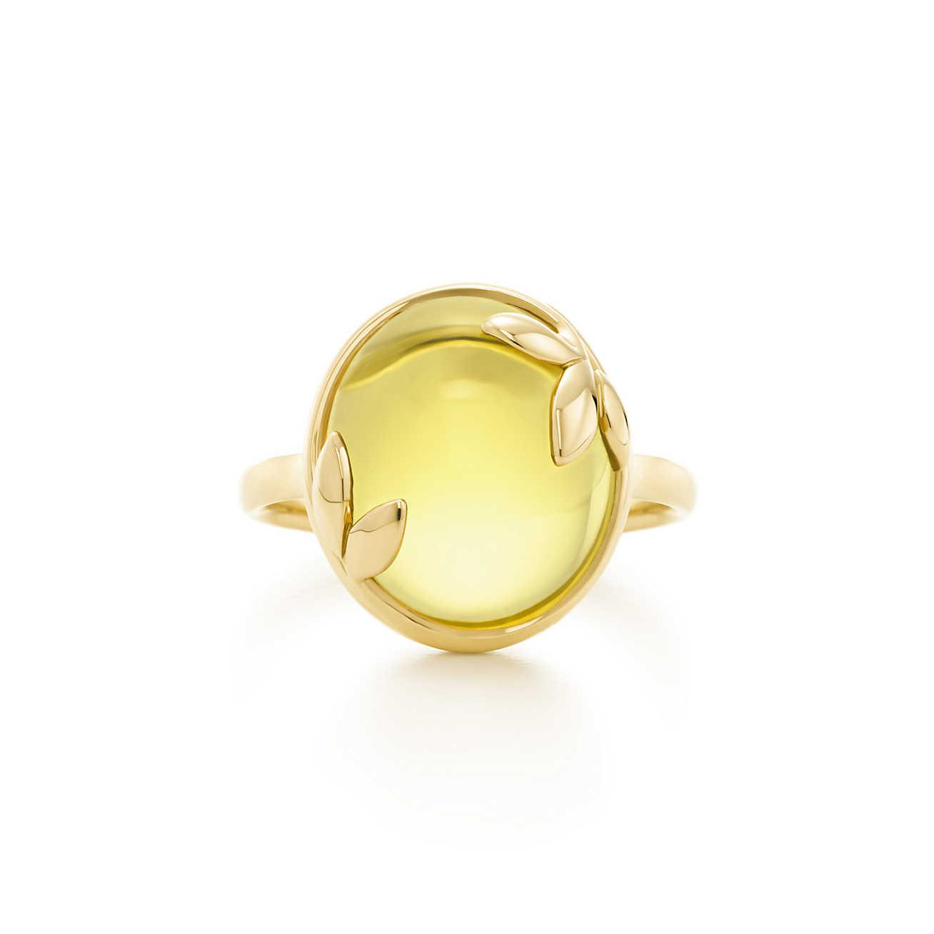 d64416934 Tiffany & Co. Paloma Picasso. Olive Leaf Ring In 18k Gold With A ...