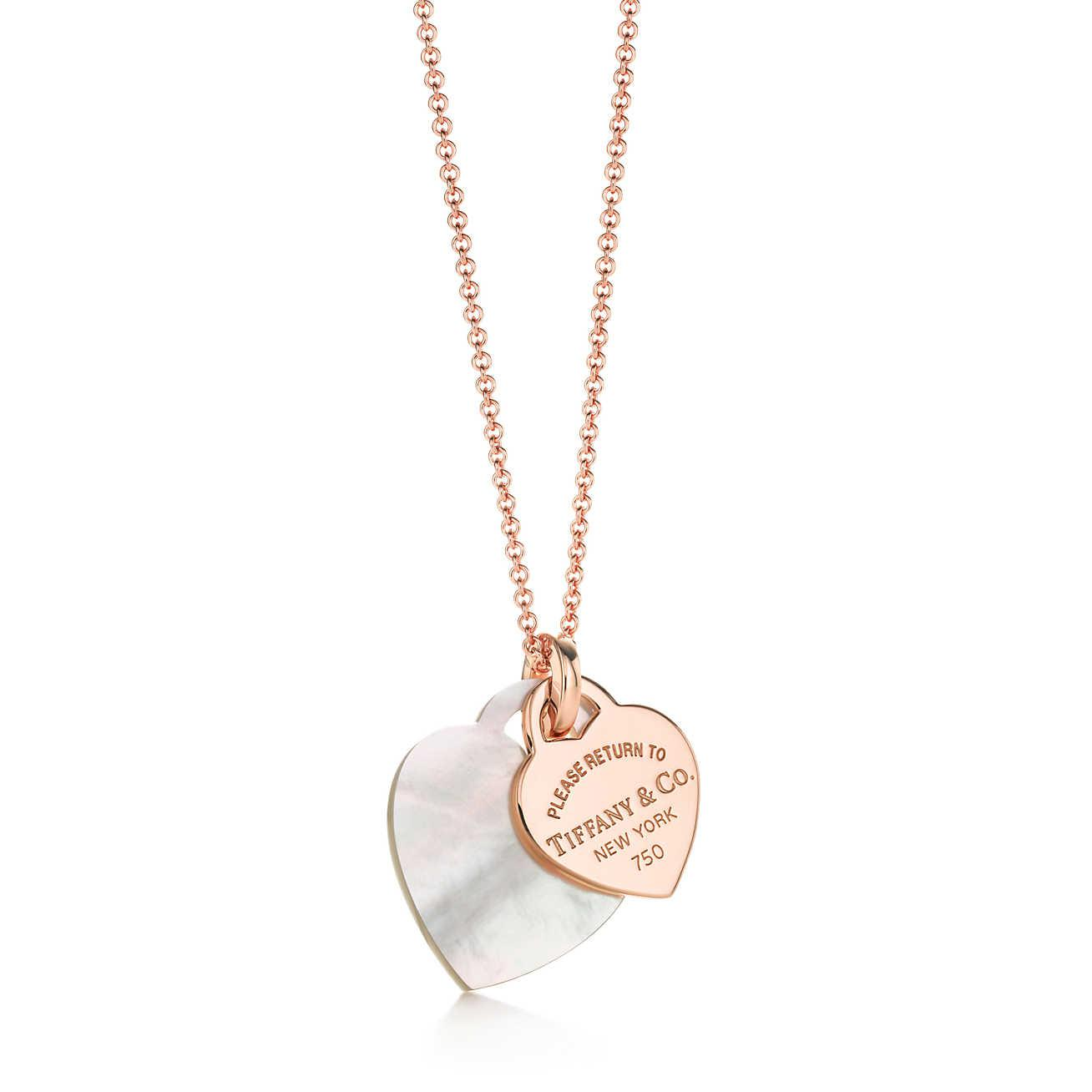 Tiffany & Co. 18kt rose gold 24 long chain - Metallic NgdacB