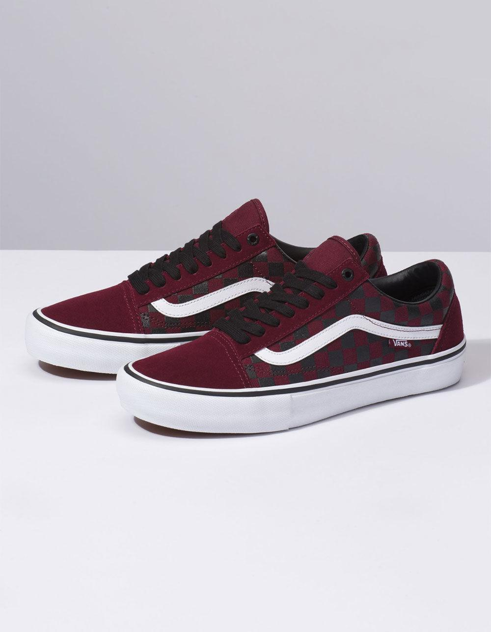 e54057848dd Lyst - Vans The Rubber Print Old Skool Pro Port Royal Shoes for Men