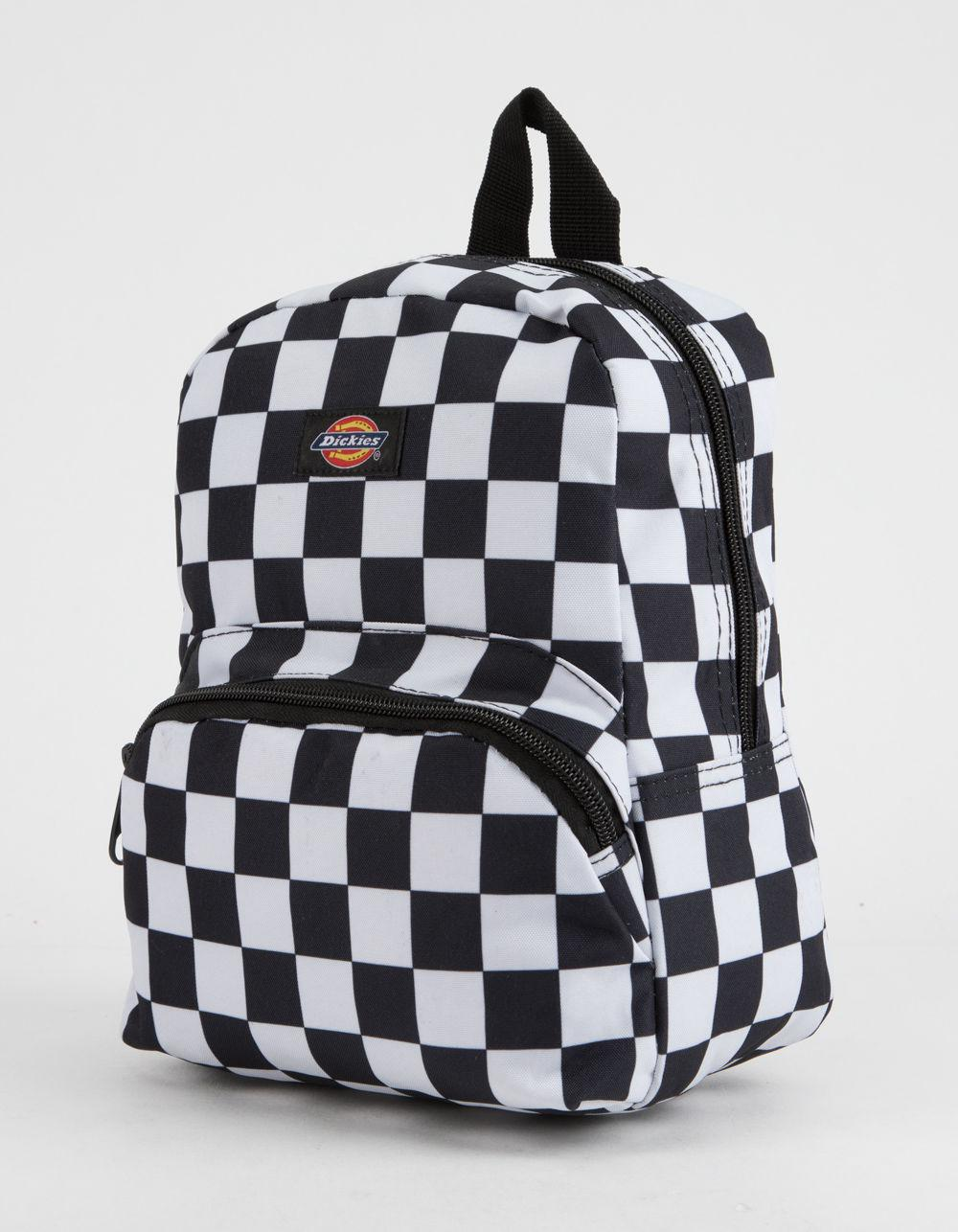 d6a37ff9a5cb Lyst - Dickies Checkered Mini Backpack in Black - Save 34%
