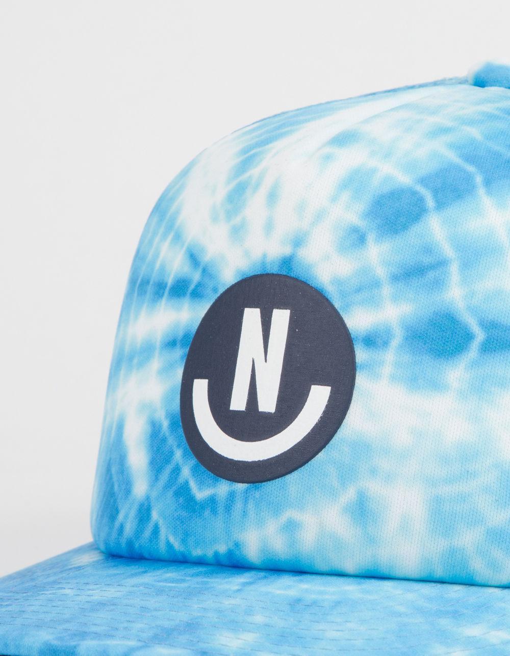 41d9f228 Lyst - Neff Smile Washed Mens Trucker Hat in Blue for Men