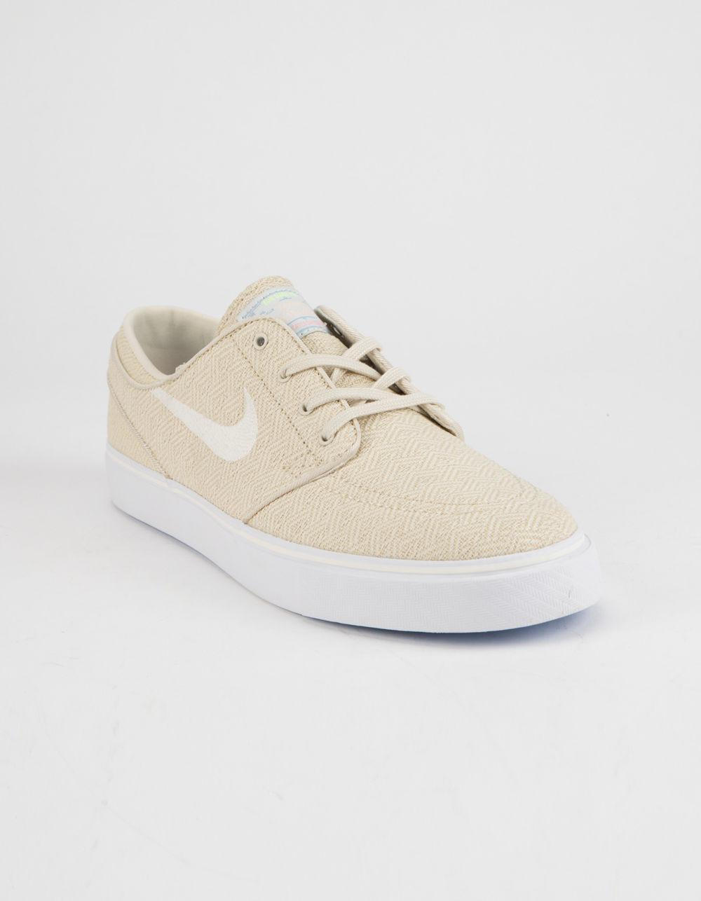 09188bdbcb3a Lyst - Nike Zoom Stefan Janoski Canvas Fossil   Sail White Mens Shoes in  White for Men