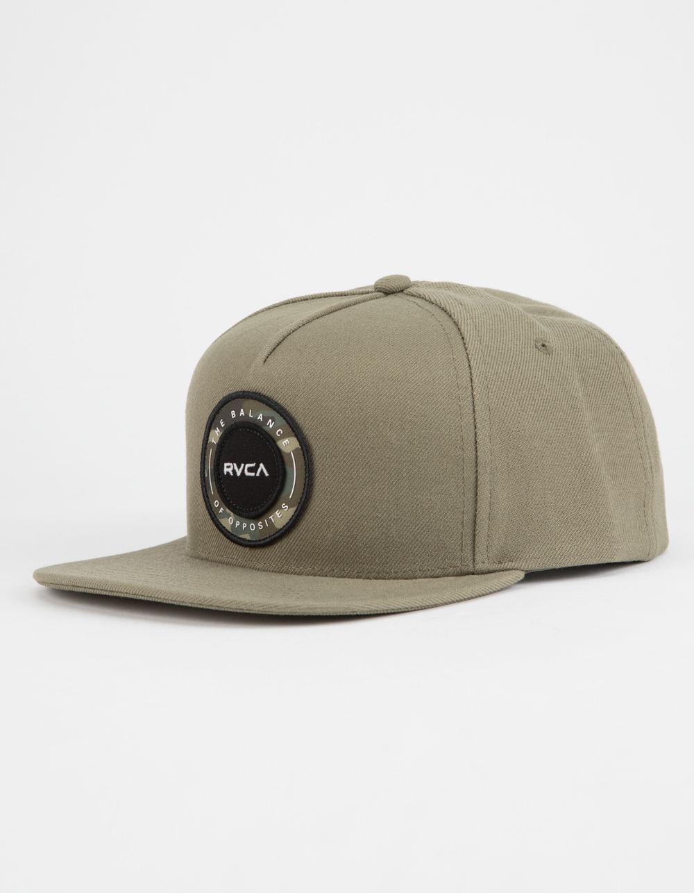 81402db3d71 Lyst - Rvca Radius Mens Snapback Hat in Green for Men