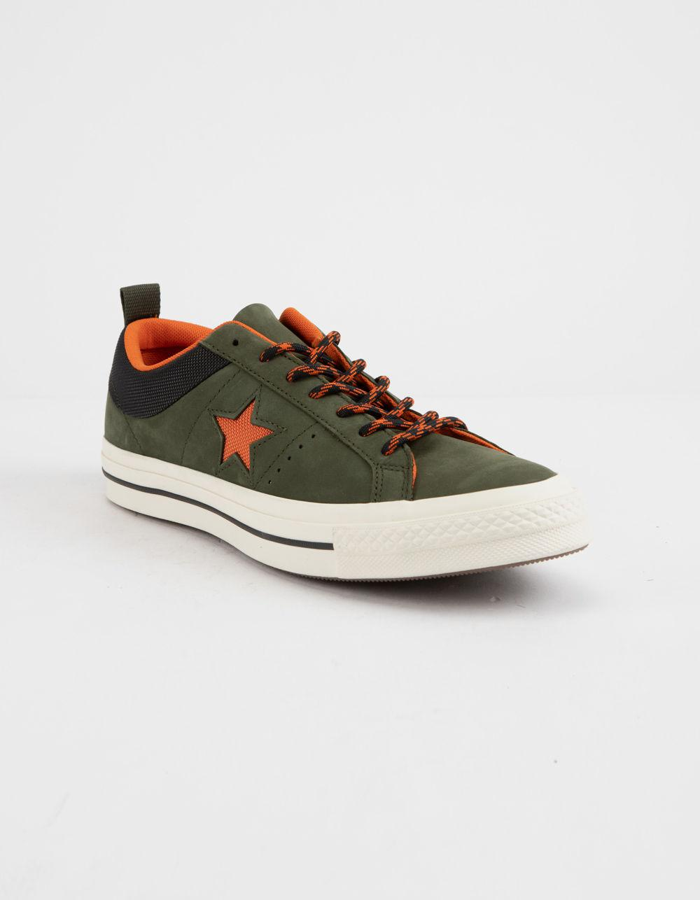 5072b480b668 Lyst - Converse One Star Ox Sierra Low Top Shoes in Green