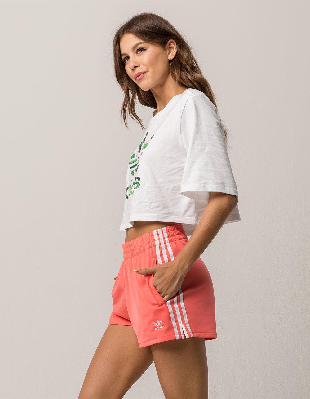 adidas shorts female