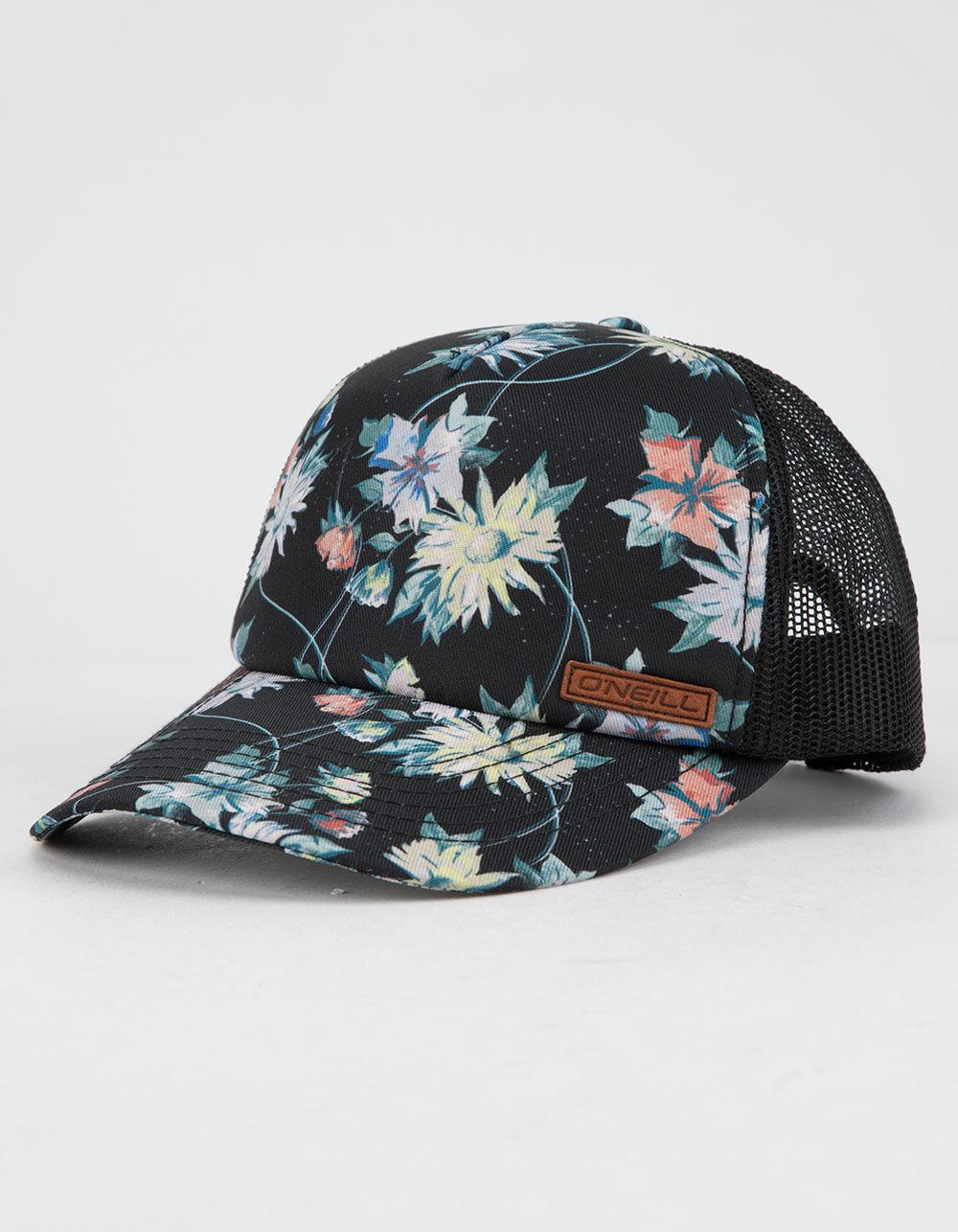 658681317cc Lyst - O neill Sportswear Saturdays Womens Trucker Hat in Black