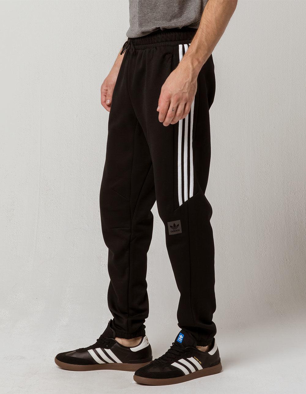 fe87a4938 Adidas - Black Tech Mens Sweatpants for Men - Lyst. View fullscreen