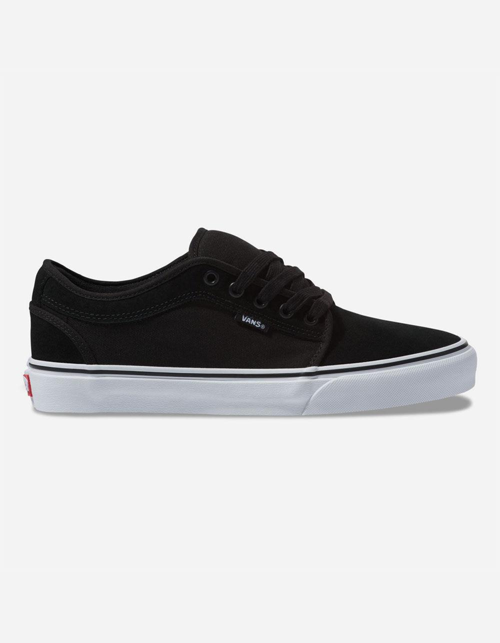 ab573e37602b Vans - Suede Chukka Low Black   True White Mens Shoes for Men - Lyst. View  fullscreen