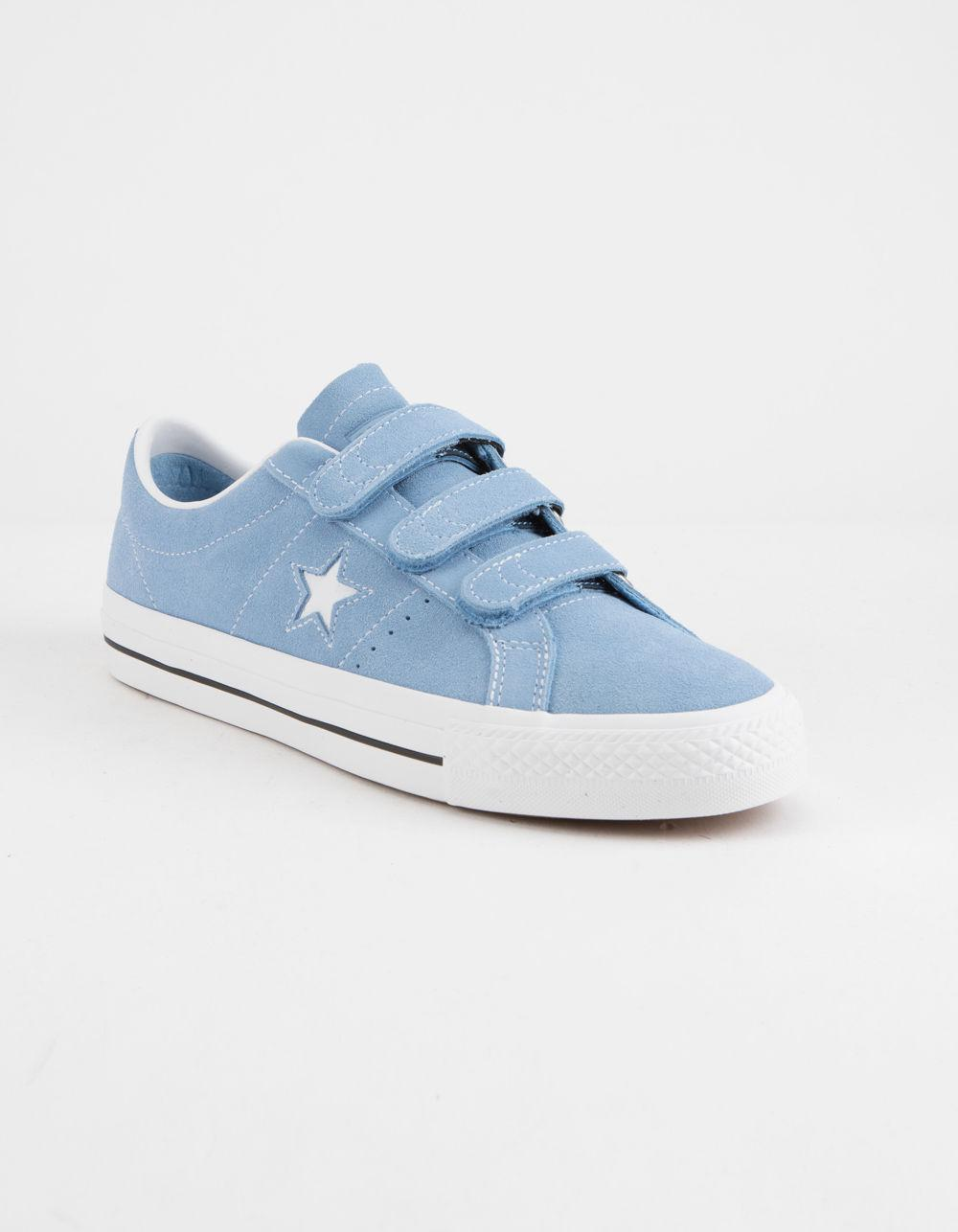 d3125c764c47 Lyst - Converse One Star Pro 3v Ox Light Blue   White Shoes in Blue for Men