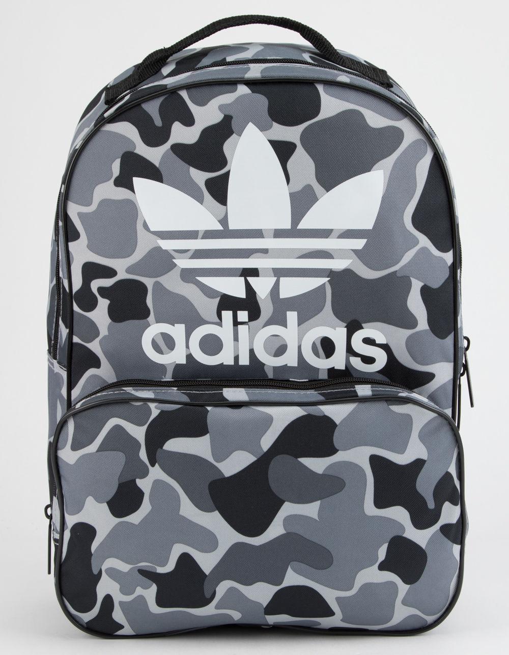 Adidas - Originals Santiago Black Camo Backpack for Men - Lyst. View  fullscreen ffa5b0aef9e87