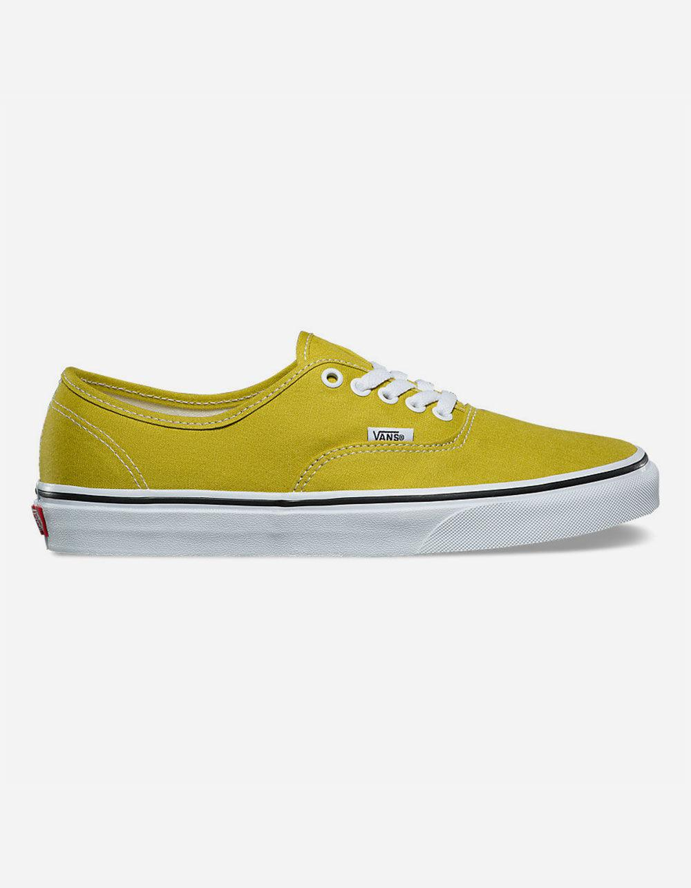 7ccb1d48afe423 Lyst - Vans Authentic Cress Green   True White Mens Shoes for Men ...
