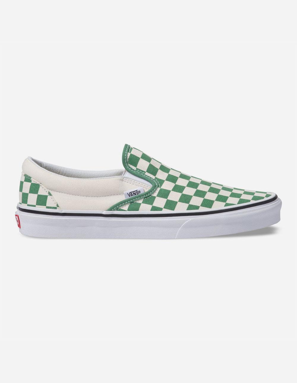 3bdceafd835c4f Vans - Classic Slip-on Deep Grass Green Shoes for Men - Lyst. View  fullscreen