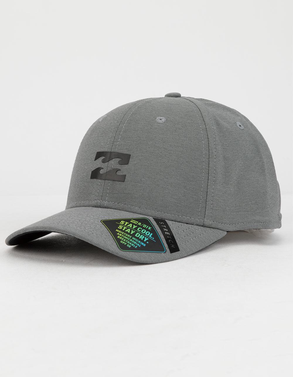 buy popular 4b27c 31880 Billabong. Gray Surftrek Mens Flexfit Hat