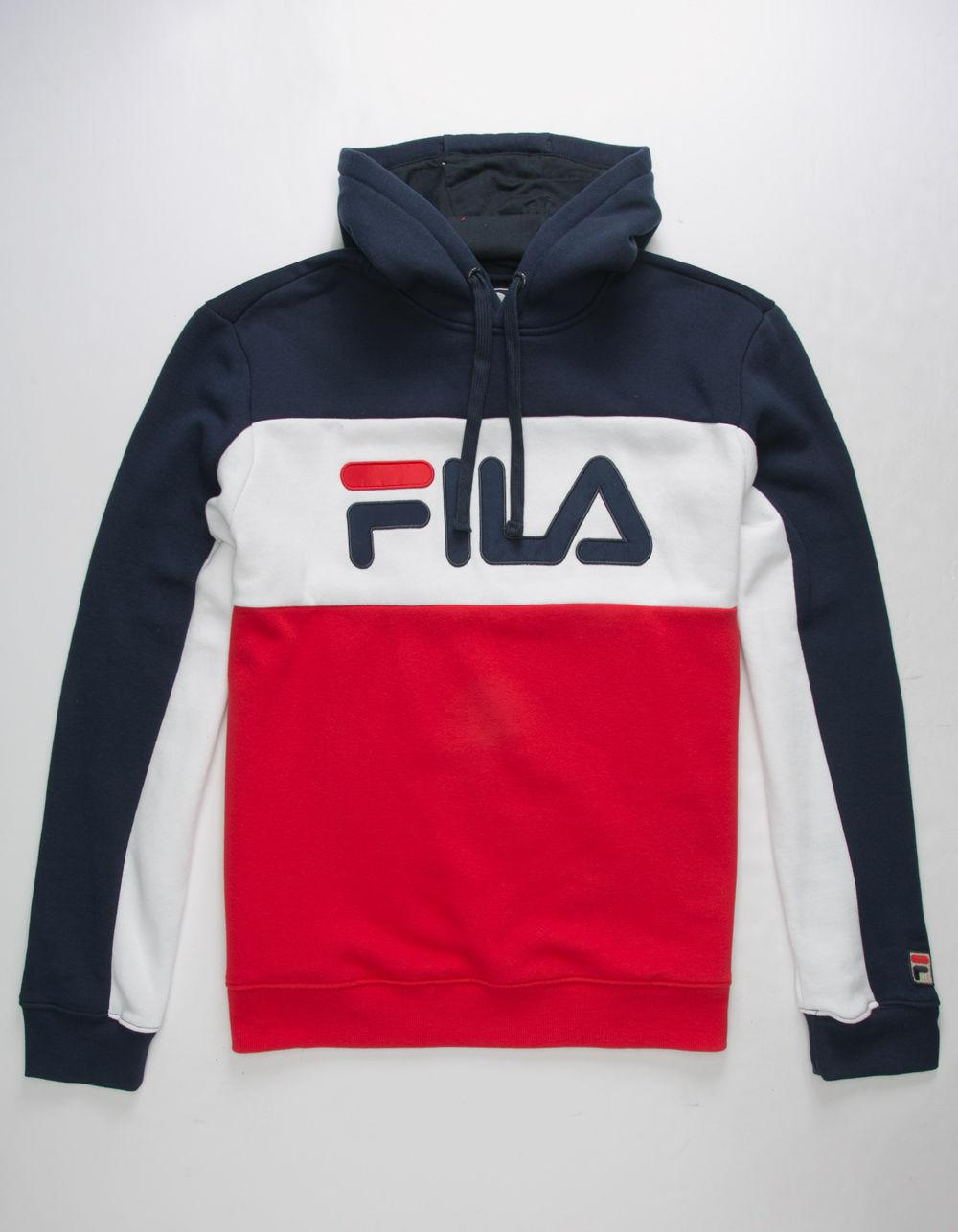75a1569b Fila Red Todd Mens Hoodie for men
