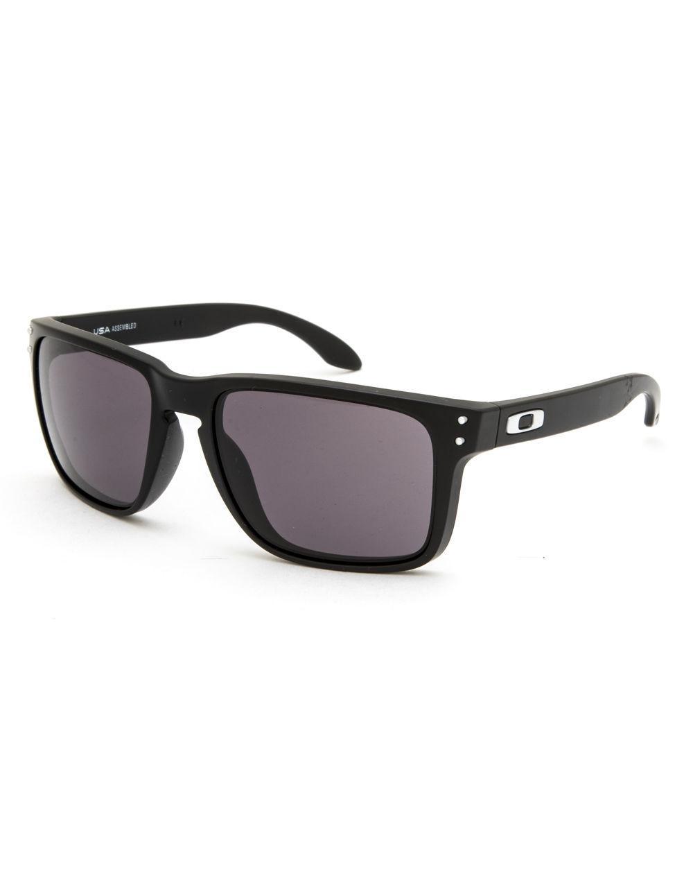 d50f55a4be Lyst - Oakley Holbrook Xl Matte Black   Warm Gray Sunglasses in ...