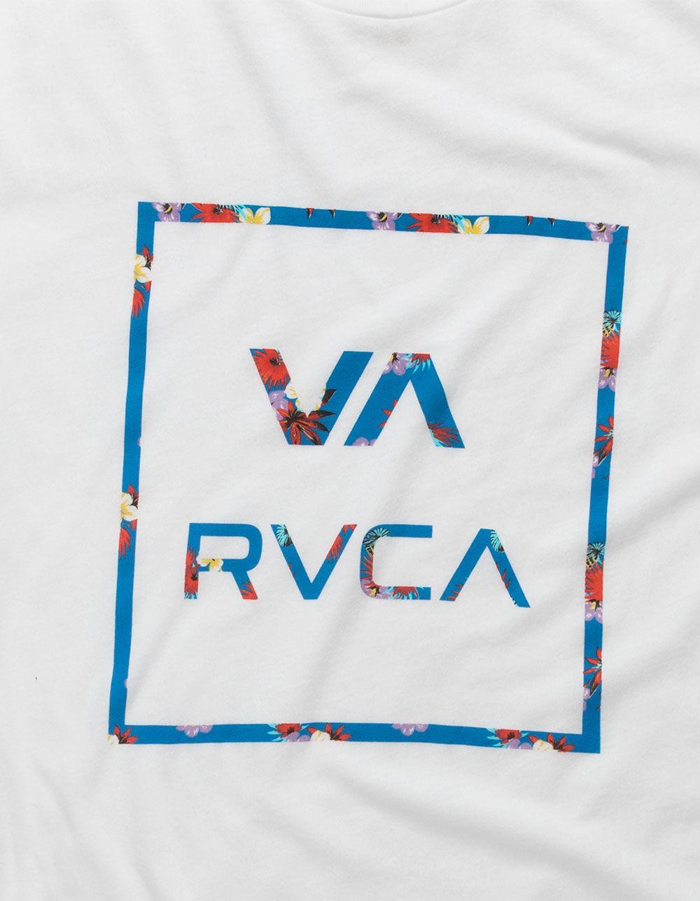 Lyst - RVCA Higgins Atw White Mens T-shirt in White for Men