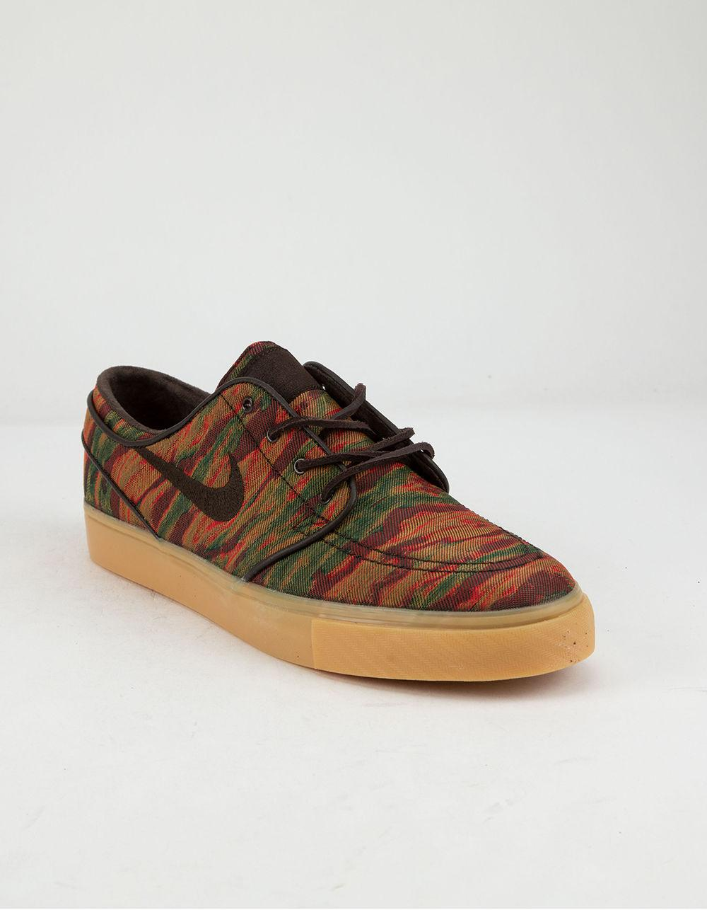 new arrival 16547 a84d1 Lyst - Nike Zoom Stefan Janoski Canvas Premium Gum Yellow   Velvet Brown  Shoes in Brown for Men