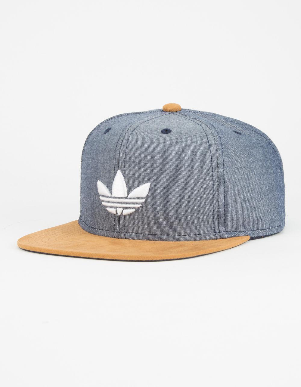 Lyst Adidas Originali Squadra Strutturato Uomo Snapback Cappello Blu