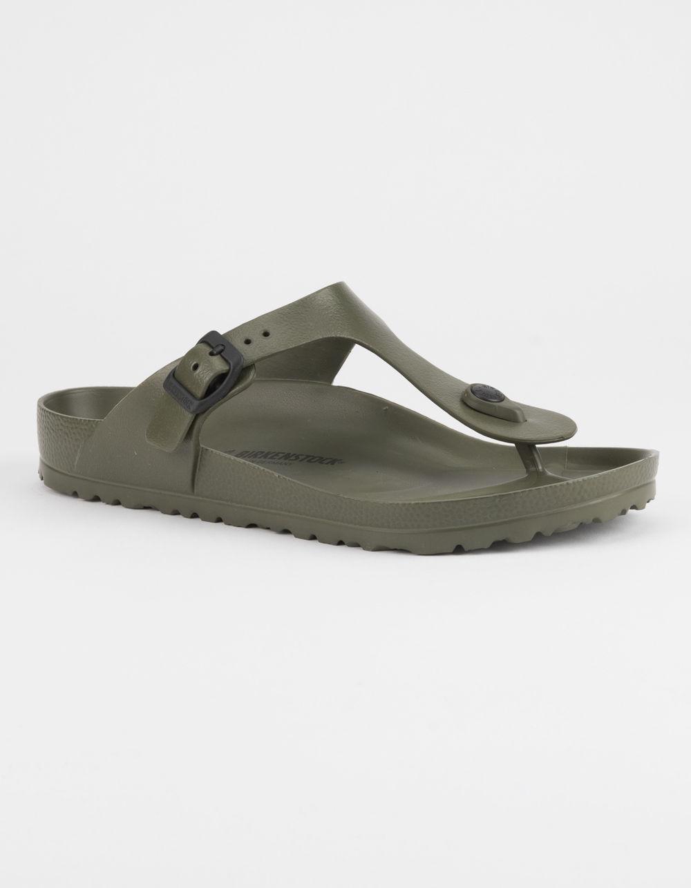 olive green birkenstock sandals Shop