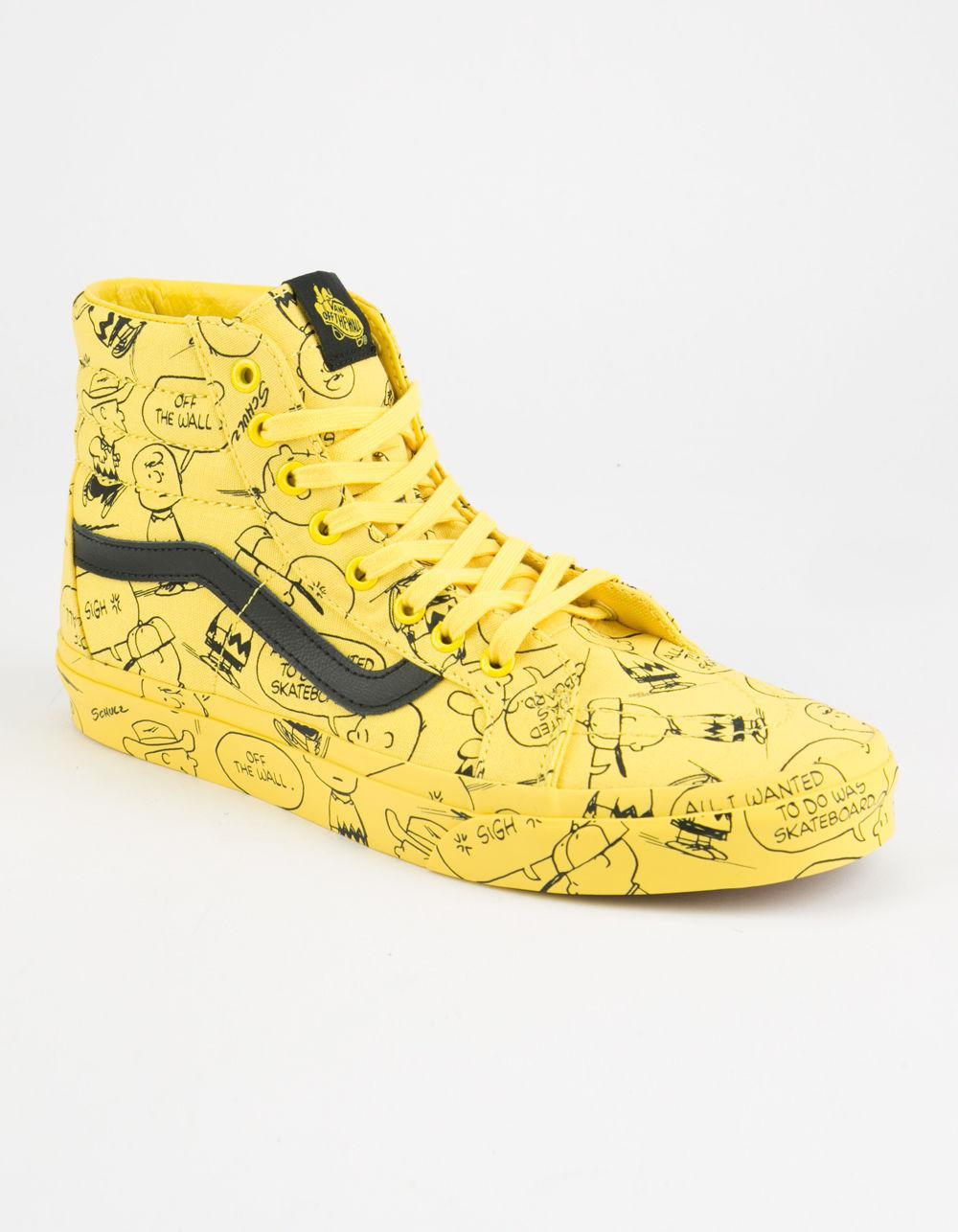Vans Canvas X Peanuts Charlie Brown Sk8