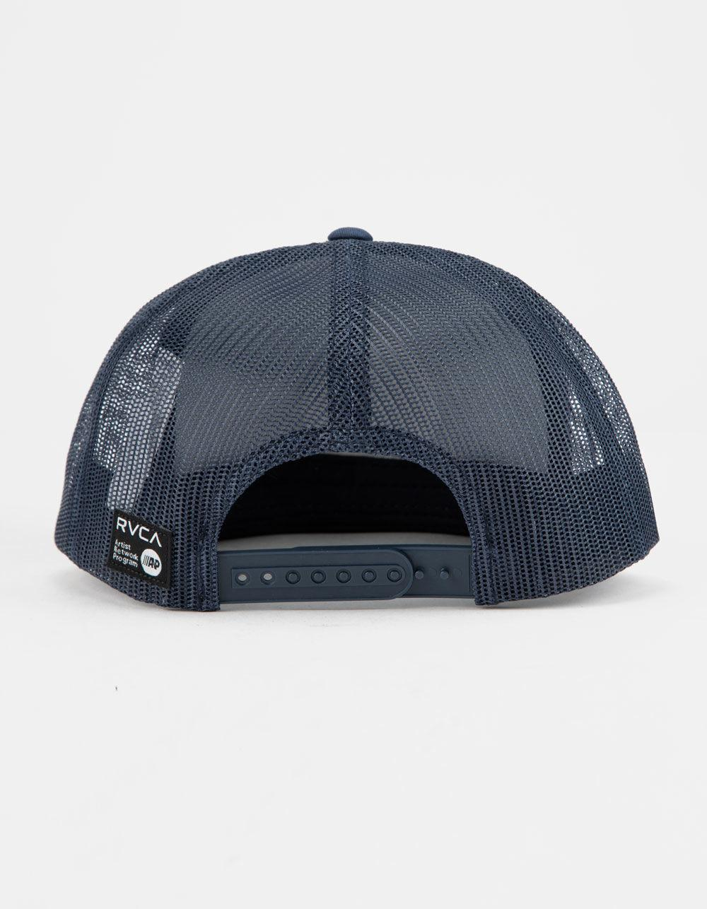 1638baca2ae Lyst - RVCA Tiger Patch Navy Mens Trucker Hat in Blue for Men - Save 4%