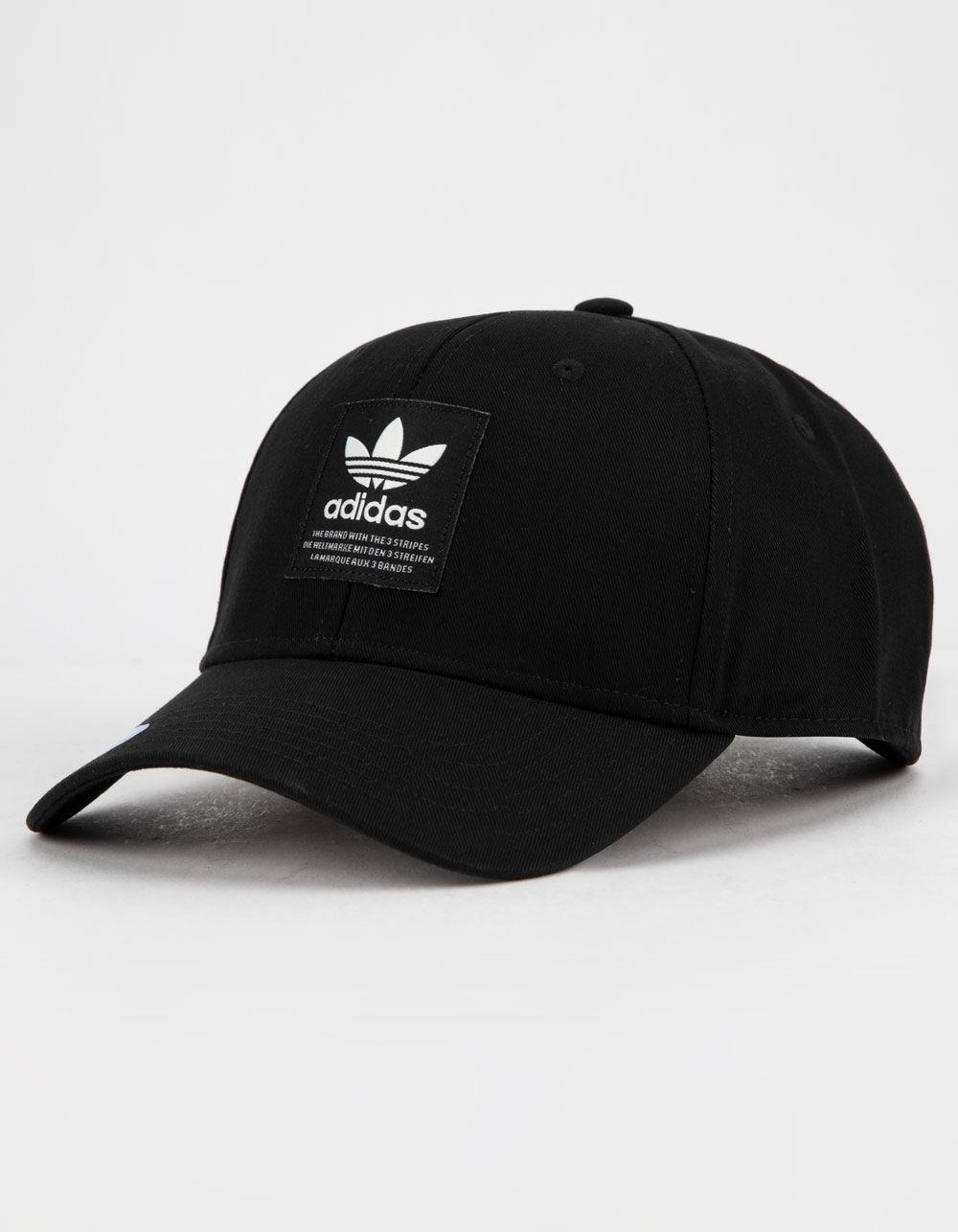 457858ed8bd Adidas - Originals Trefoil Patch Black   White Mens Snapback Hat for Men -  Lyst. View fullscreen