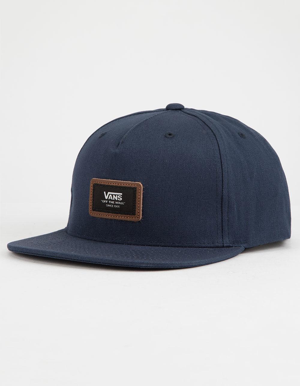 e4250ca7540 Vans - Blue Fiske Navy Mens Snapback Hat for Men - Lyst. View fullscreen