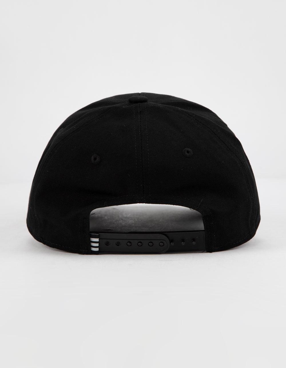 a86a485b359 Lyst - adidas Originals Trefoil Patch Black   White Mens Snapback Hat in  Black for Men