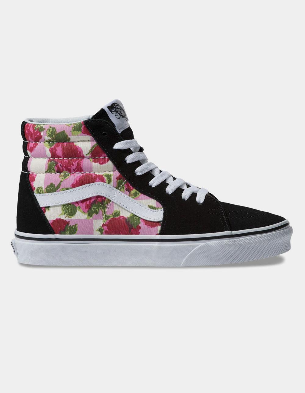 sk8 hi floral
