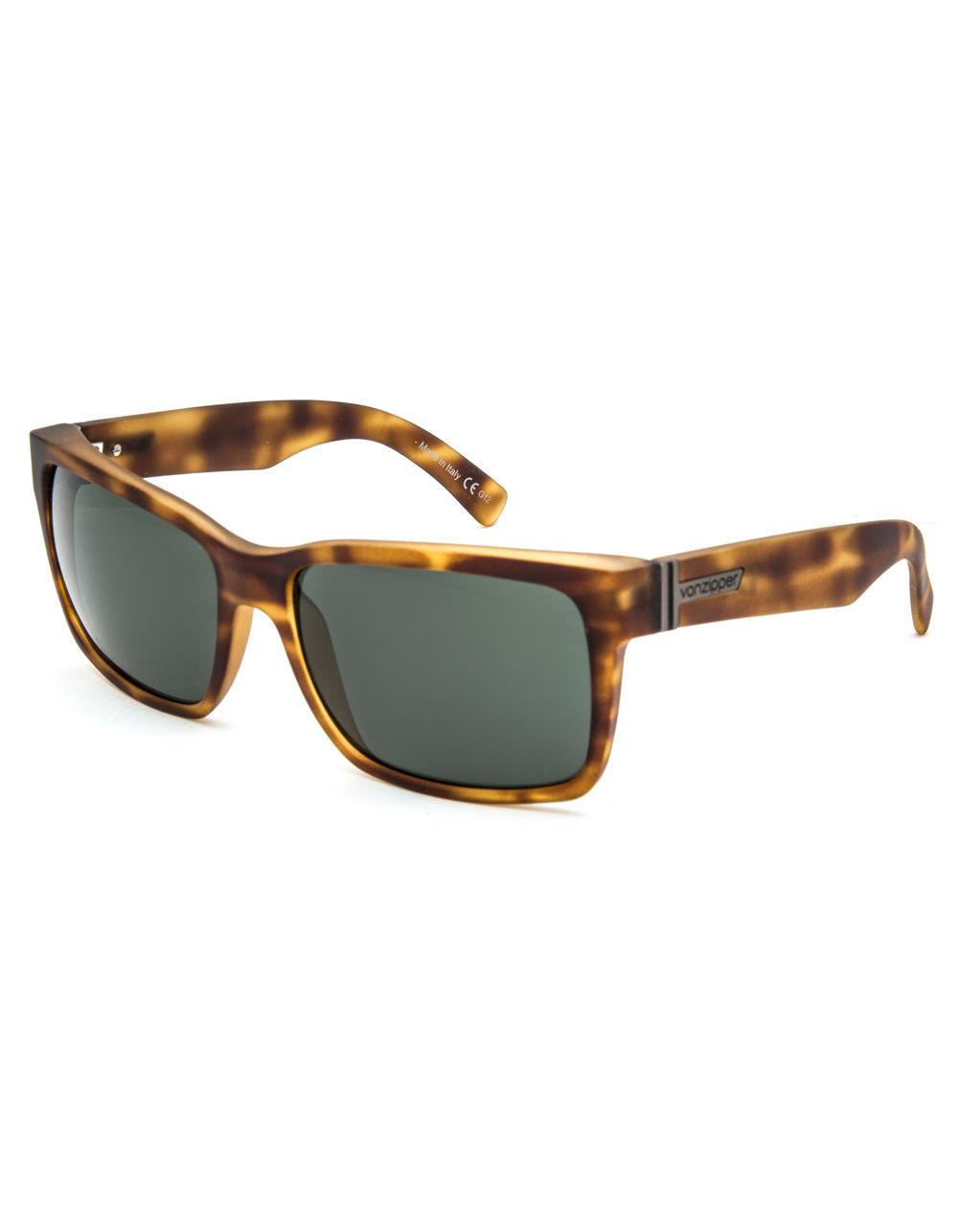 1b6ce8a20b Lyst - Von Zipper Elmore Tortoise Satin   Vintage Grey Sunglasses in ...